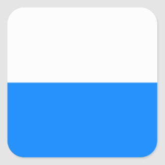 Flag of Bavaria Square Sticker