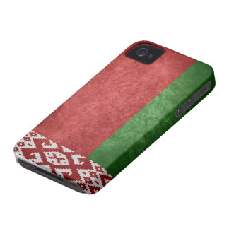 Flag of Belarus iPhone 4 Cover