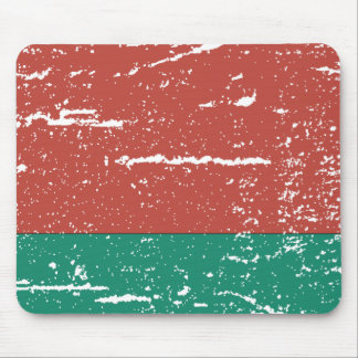 FLAG OF BELARUS MOUSE PAD