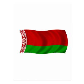 Flag of Belarus Postcard