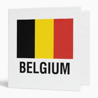 FLAG  of BELGIUM Binder