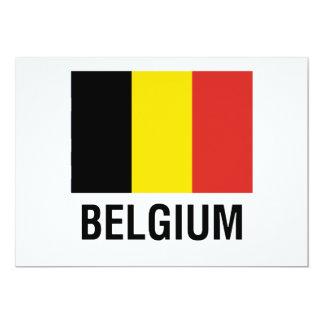 FLAG  of BELGIUM Card