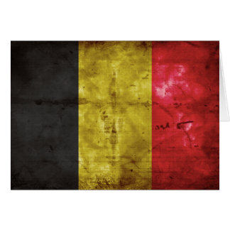 Flag of Belgium Card
