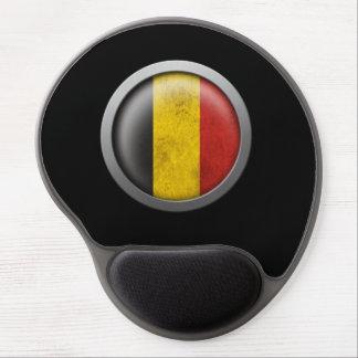 Flag of Belgium Disc Gel Mouse Pads