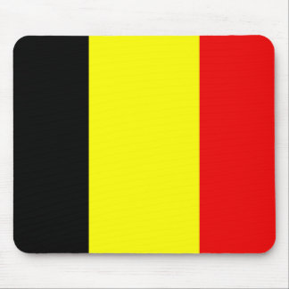 Flag of Belgium Mouse Pad