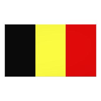 Flag of Belgium Photographic Print