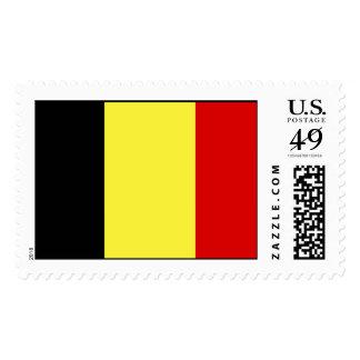 Flag of Belgium Postage