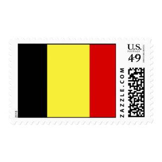 Flag of Belgium Stamp