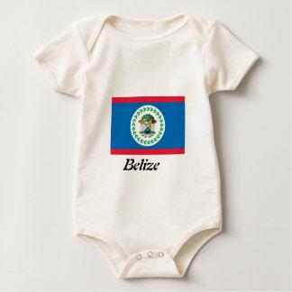 Flag of Belize Baby Apparel Baby Bodysuit