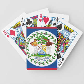 Flag of Belize Bicycle Playing Cards