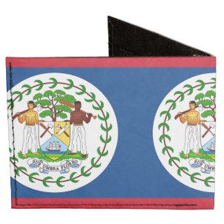 Flag of Belize Billfold Wallet