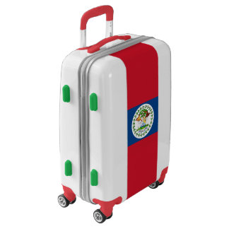Flag of Belize Luggage (Carry-On)