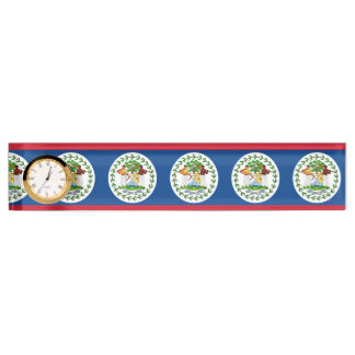 Flag of Belize Name Plate