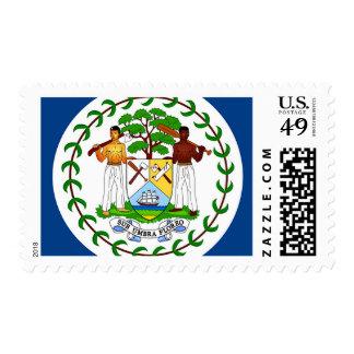 Flag of Belize Stamps