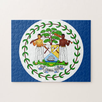 Flag of Belize Jigsaw Puzzle