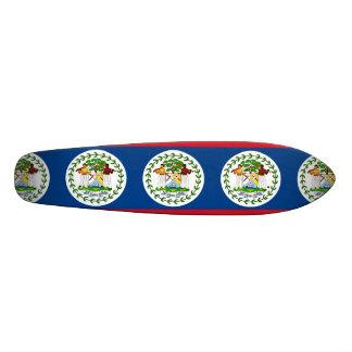 Flag of Belize Skateboard