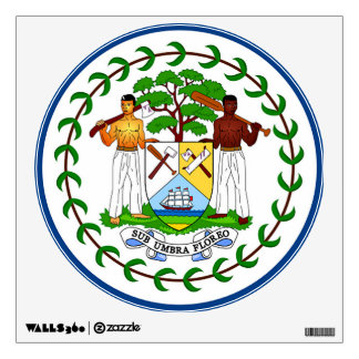 Flag of Belize Wall Decal