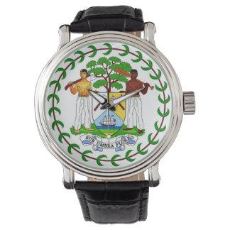 Flag of Belize Wrist Watch