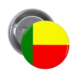 Flag of Benin, Africa Button