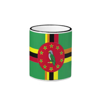 Flag of Benin and Dominica Mug