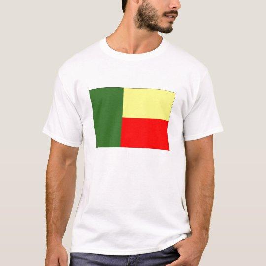 Flag of Benin Mens T-Shirt