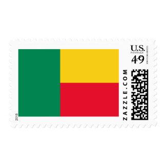 Flag of Benin Postage Stamps