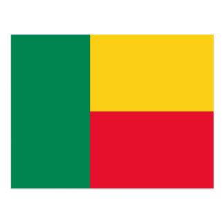 Flag of Benin Postcard