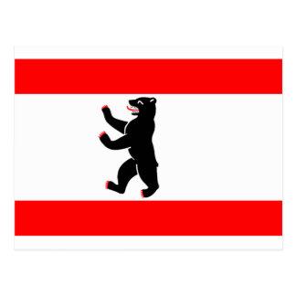 Flag of Berlin Postcard