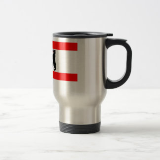 Flag of Berlin Travel Mug