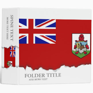 Flag of Bermuda Binder
