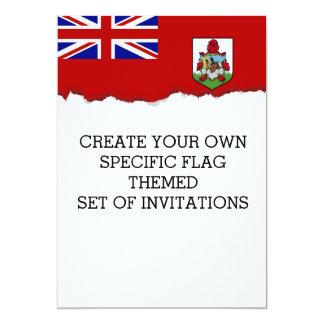 Flag of Bermuda Card