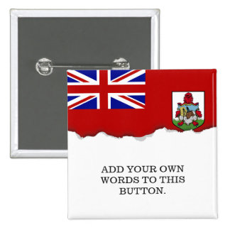Flag of Bermuda Pinback Button