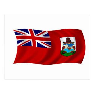 Flag of Bermuda Postcard