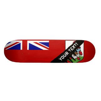 Flag of Bermuda Skateboard Deck