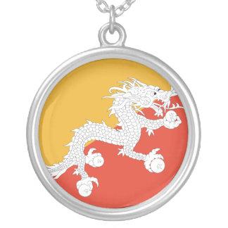 Flag of Bhutan Necklace