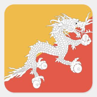 Flag of Bhutan Sticker