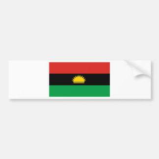 Flag of Biafra (Bịafra) Bumper Sticker