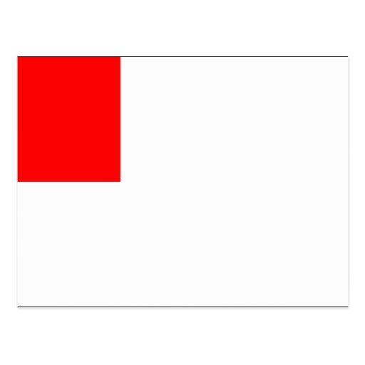Flag of Bilbao Postcard