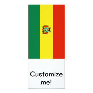 Flag of Bolivia Card
