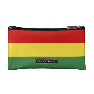 Flag of Bolivia Cosmetic Bag