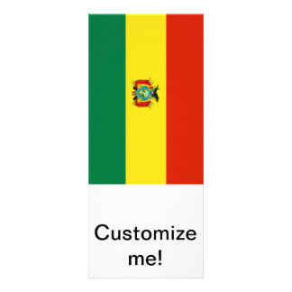 Flag of Bolivia Personalized Announcement