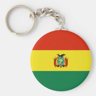 Flag of Bolivia Keychain