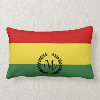 Flag of Bolivia Lumbar Pillow