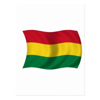Flag of Bolivia Postcard