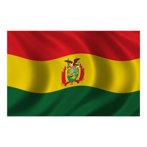 Flag of Bolivia Posters