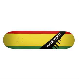 Flag of Bolivia Skateboard Deck