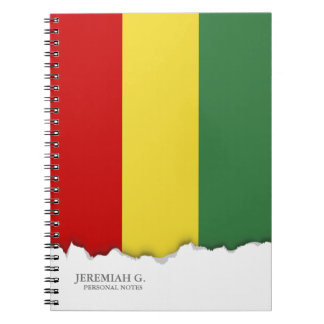 Flag of Bolivia Spiral Notebook