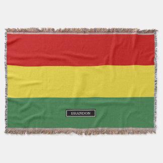 Flag of Bolivia Throw