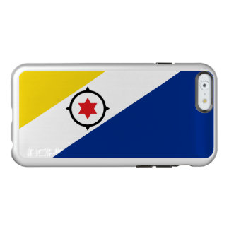 Flag of Bonaire Silver iPhone Case
