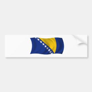 Flag of Bosnia and Herzegovina Bumper Sticker